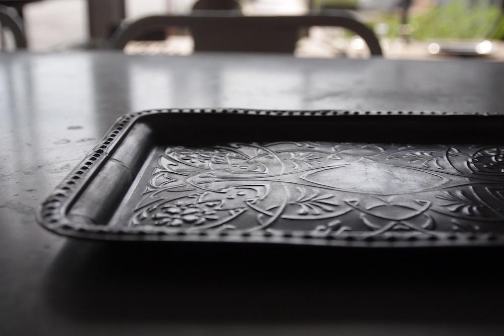 art nouveau tray